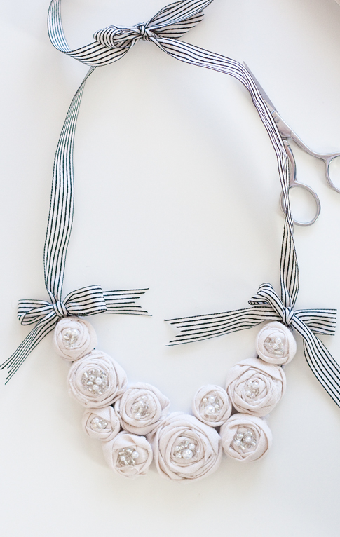 Diy Fashion Accessories Necklace The Rosette Bib Necklace is a